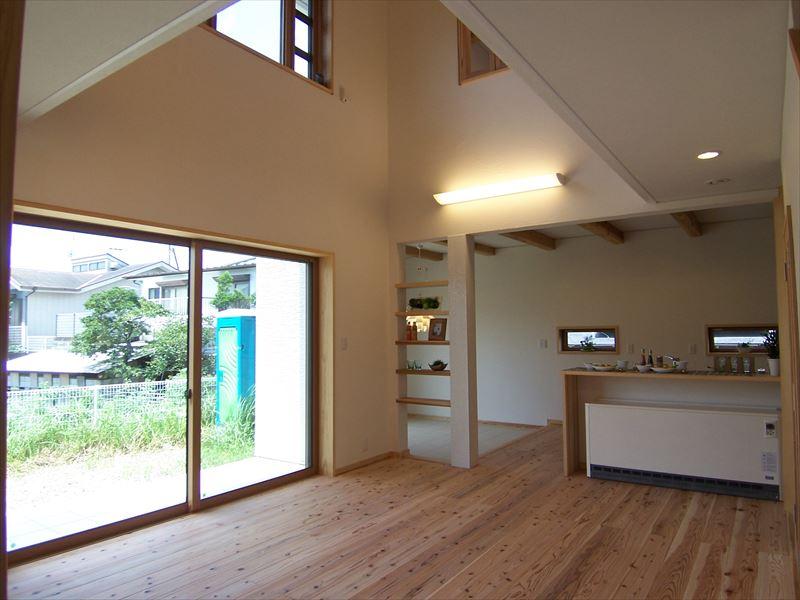 自然素材と外断熱で造る若いご家族の夢の詰まった家