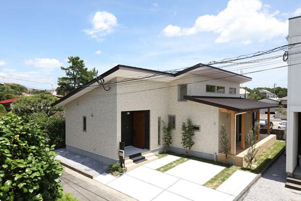 太陽の恵みを最大限に取り入れ、健康寿命について考えた自然素材の家!